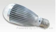 7W太阳能球泡灯