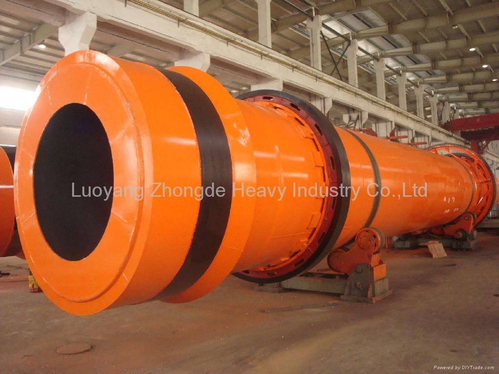 2.4*24m Rotary Drum Cooler for Bentonite and Kaoline 1