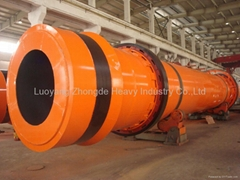 2.4*24m Rotary Drum Cooler for Bentonite and Kaoline
