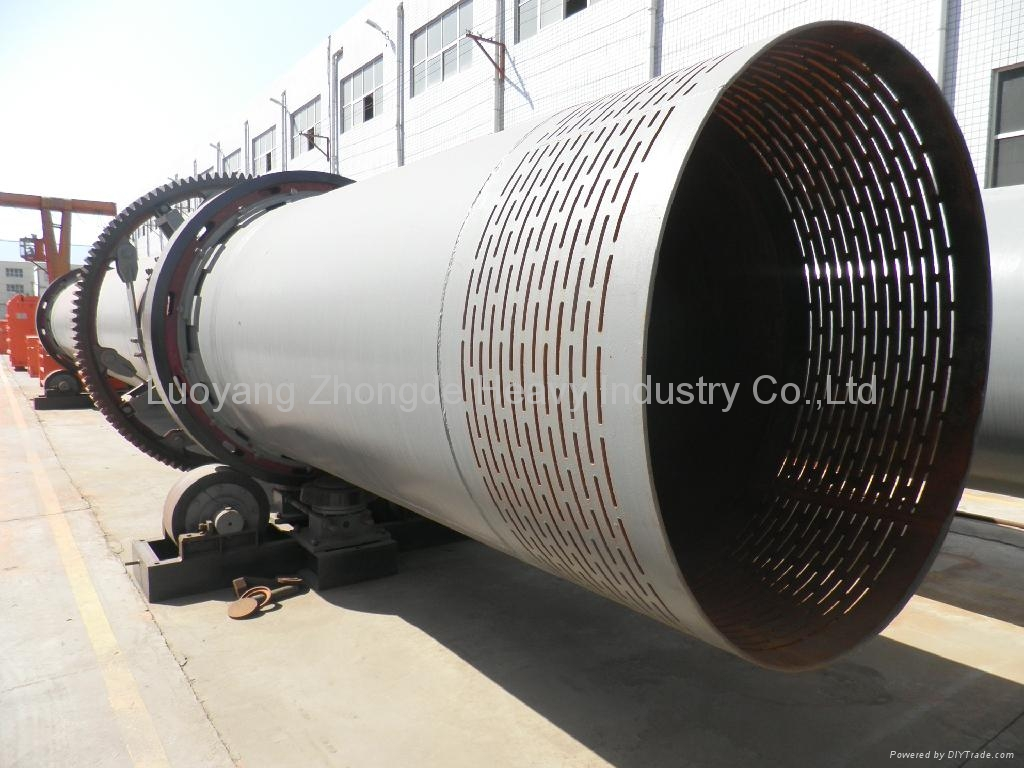 2.4*24m Rotary Drum Cooler for Bentonite and Kaoline 3