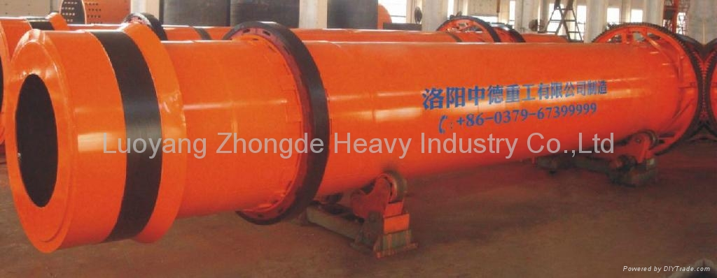 2.4*24m Rotary Drum Cooler for Bentonite and Kaoline 4
