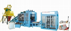 Concrete  brick machine  (Hot