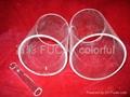 Gas semltime quartz glass