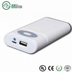 7000mAh Mobile Power Bank/portable rechargeble battery