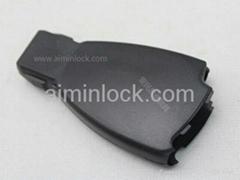 Benz 4-button remote key shell(no logo)