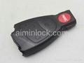 Benz 4-button remote key shell(no logo) 2