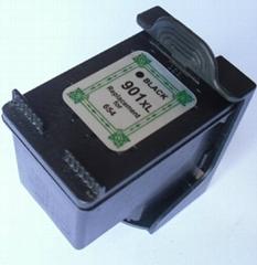 Remanufactured Inkjet cartridge HP 901 BK
