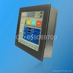 嵌入式數控PLC觸摸一體機
