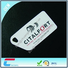 PVC RFID key Tag Card