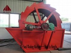 High efficiency wheel mining washing plant