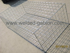 Steel welded wire gabions