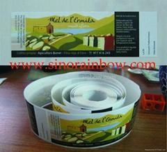 Custom Roll Paper Stickers