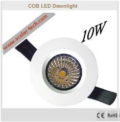 10W - LED COB Downlight 1