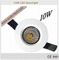 10W - LED COB Downlight