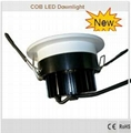 10W - LED COB Downlight 2