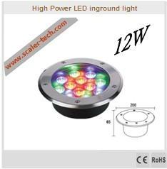 12W LED Inground light