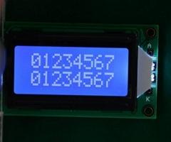 字符点阵LCD液晶屏