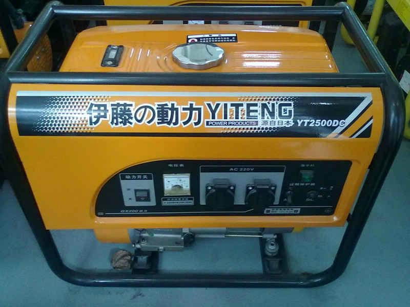 進口3kw汽油發電機YT4000UME 2