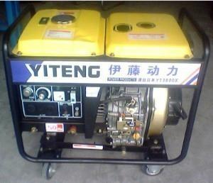 阿克甦直銷靜音3kw汽油發電機 1