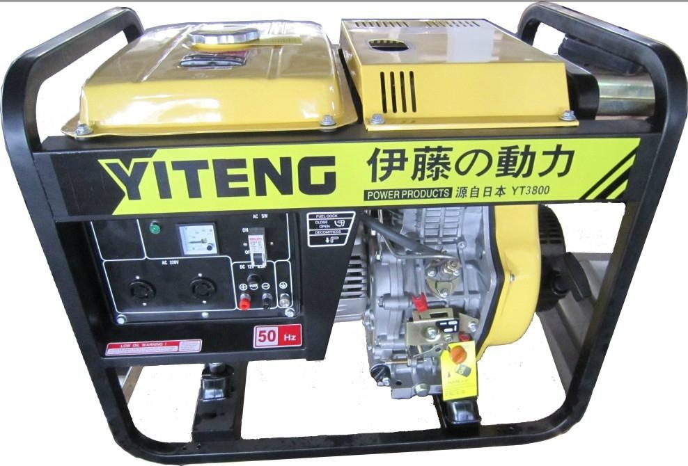 阿克甦直銷靜音3kw汽油發電機 2