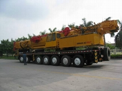 DEMAG AC400/7 truck crane