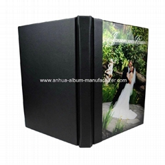 Crystal cover  photo albums