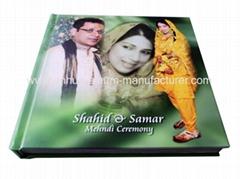 Magazine Style flush mount wedding photo albums