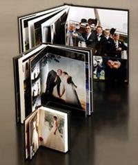 flush mount wedding photo book