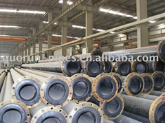 corrosive resistance UHMWPE composite pipe