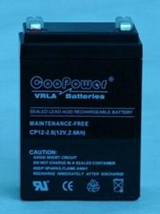 12V2.6铅酸蓄电池