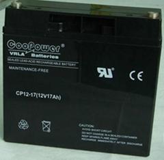 12V17鉛酸蓄電池