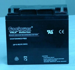 12V38鉛酸蓄電池