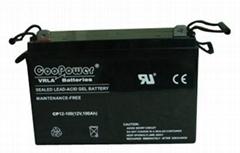 12V100鉛酸蓄電池