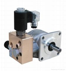 gear pump with lift va  e
