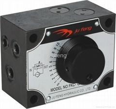 Mechanical flow control va  e