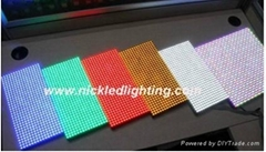 hot LED module  P10 indoor single and tri-color module