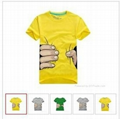 2012 later popular t-shirts for men and women , cheap cotton t-shirts