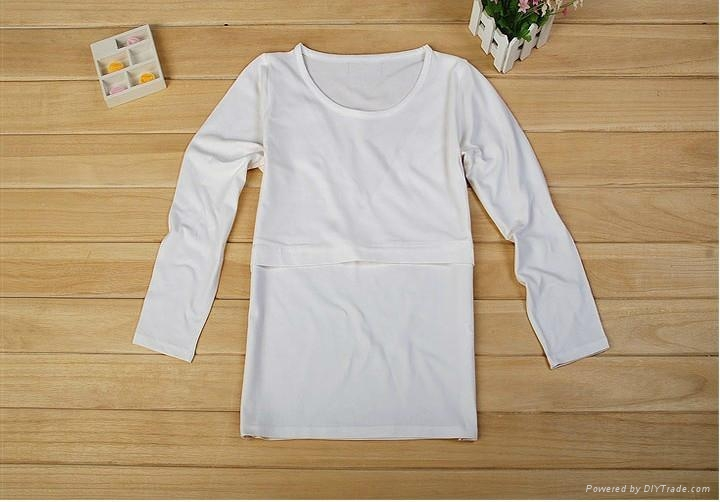 f34342fd934bf 100% organic cotton women breastfeeding clothes,maternity clothes 1 ...