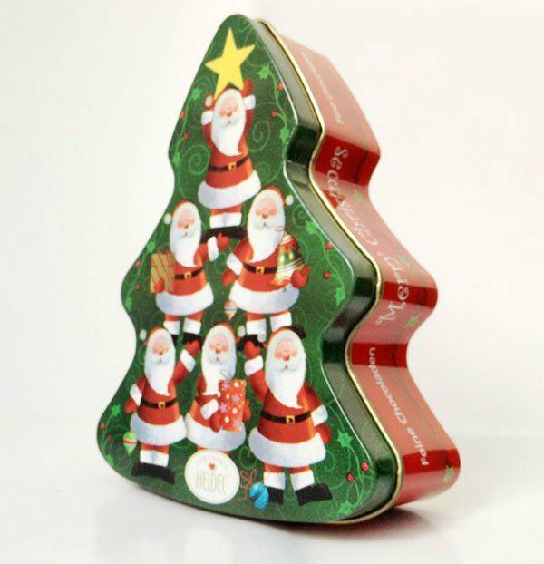Santa Christmas Tree Tin box - UK153113044 - Tinpak Co./buyer ...