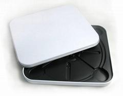cd tin case with plastic insert