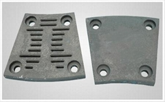 Ball mill liner, grate plate, diaphragm, sieve plate and wear-resisting ball