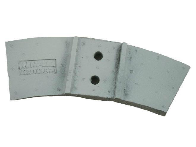 混凝土攪拌機配件,耐磨襯板,攪拌葉,攪拌臂,刮刀/刮板 5