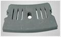Grate cooler hammerhead, lining plate
