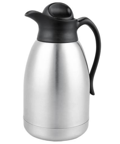 Stainless Steel Double Wall Vacuum Coffee Pot 2.0L 3