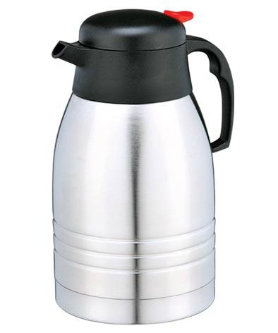 Stainless Steel Double Wall Vacuum Coffee Pot 2.0L 5
