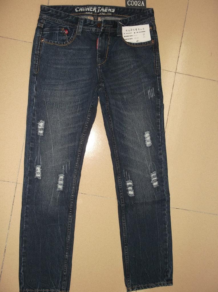 男裝牛仔褲 C002A 1