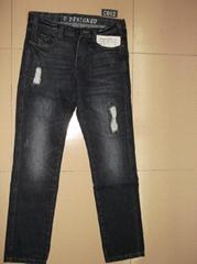 男装牛仔裤 C012