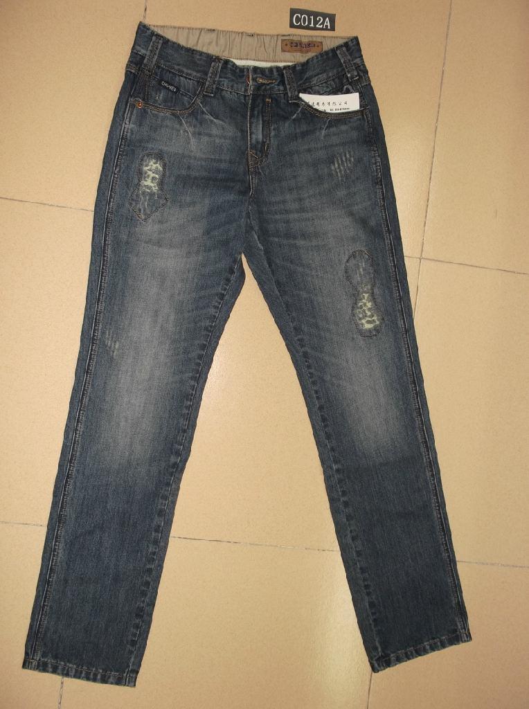 男裝牛仔褲 C012A 1