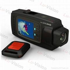Remote Control Waterproof Sport Helmet Action HD 1080P Camera Cam DVR Camcorder