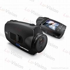 Waterproof Sport Helmet Action HD 1080P Camera Cam DVR Digital Camera Car DVR
